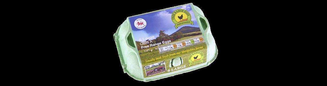 Shropshire Free Range Eggs